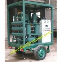 Quality Traveling Type Transformer Oil Recycling Sets,Water  Dust Protected Mobile Transformer Oil Purification Equipment onsite for sale