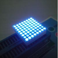 High Brightness 2mm Led Dot Matrix Display 0.8 Inch black Surface Manufactures