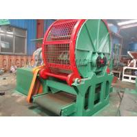 Double Shaft Tyre Shredding Machine 3 - 6T/H Capacity 55kw * 2 Driving Motor Manufactures