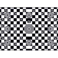 Photographic Paper SineImage YE006 Chessboard Test Chart Reflectance Manufactures