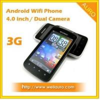 Dual SIM 3G Wifi GPS Mobile Phone Android 2.3 TV Manufactures