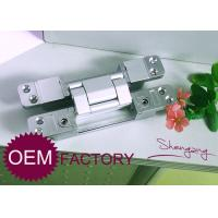 Heavy Duty Invisible Door Hinges / Zinc Alloy 180 Degree Concealed Hinge Manufactures