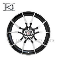 Buy cheap High Profile Forged Racing Alloy Wheels 20 Inch / Black Chrome Wheels For Vehicle from wholesalers