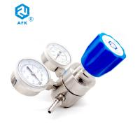 China High Pressure Stainless Steel Nitrogen Regulator 200 Bar G5/8 With Dual Gauges on sale