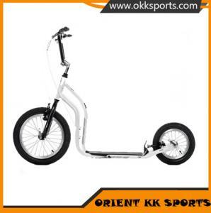 China big wheels aluminium kick scooter/dog scooter/folding adult kick scooter on sale