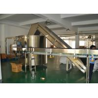 Electric Bottle Unscrambler with PLC control for Large Beverage Production Line Manufactures