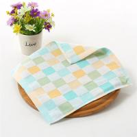 Fancy Jacquard Velour Cotton Baby Washcloths , Disposable Reusable Baby Wipes Manufactures