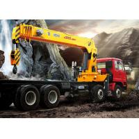SQS500K Telescopic Boom Truck Crane / trailer mounted cranes lifting height 24m Manufactures