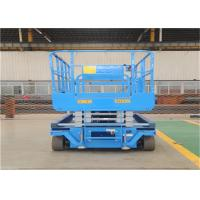 China 8M Scissor Lift Platform , Trailer Mounted Boom Lift 0.9 M Roll Out Platform Extension on sale