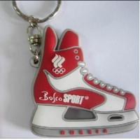 Wholesale 2D Rubber PVC Mini Air Max Jordan Basketball Shoes Sneaker Keychain Manufactures