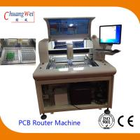 High Efficient PCB Singulation Circuit Board Router Equipment for sale