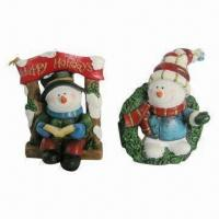 China Polyresin Christmas Crafts, Special Design Brings Special Feeling, Available in Various Colors on sale