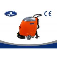 Hand Push Compact Floor Scrubber Machine , Automatic Floor Mopping Machine Manufactures