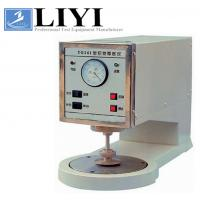 0.1 - 10mm Testing Thickness Range Textile Testing Instruments Fabric Thickness Tester Manufactures