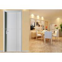 Thickness 35/40/45mm White Plastic Interior Doors Max Width 1000mm Adjustable Angle Manufactures