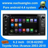 China Ouchuangbo Car GPS Navigation Stereo Radio for Toyota Vios /Avanza 2003-2010 Android 4.4 on sale