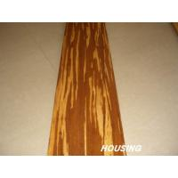 Tiger-Stripe Strand Woven Bamboo Flooring Manufactures