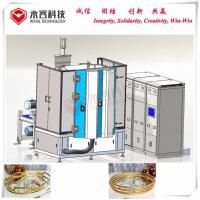 Wear Resistance PVD Gold Plating Machine, DC Sputtering Gold Plating,  Au Gold Magnetron Sputtering Deposition Manufactures