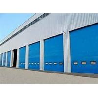 Industrial High Speed Sectional Garage Doors Safe 40mm Insulated Sandwich Panel Manufactures