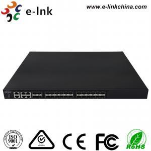 Managed Ethernet Switch Fiber Optic 24 10Gbps SFP+ ports + 4 Gigabit TP / SFP combo ports Manufactures