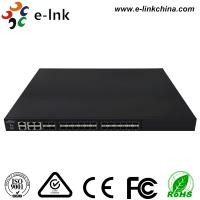 China Managed Ethernet Switch Fiber Optic 24 10Gbps SFP+ ports + 4 Gigabit TP / SFP combo ports on sale