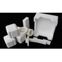 China Wear Resistant Corundum Refractory Ceramic Board / Tube For Building Materials on sale