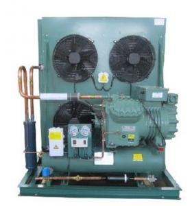 Air cooled Refrigeration Bitzer condenser Unit for cold storage room Manufactures