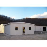 Color Steel Sheet Steel Structure Workshop With Windproof Bolts Connection for sale