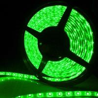 5m SMD 5050 Waterproof Green LED Strip Light Manufactures