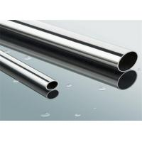 Quality JIS AISI 410S Round Welded Stainless Steel Pipe , 6mm - 426mm OD for sale