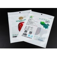 Vacuum Jujube Resealable Packaging Bags Poly Foil Material With Rectangle Window Manufactures