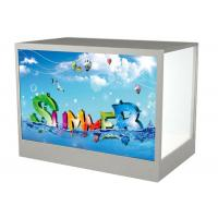 "21.5"" Transparent Custom LCD Monitor DVI HDMI For Shopping Malls 1920 * 1080 Resolution Manufactures"