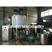 Shampoo Agitator Mixing TankLarge Volume High Speed Disperser Long Service Life Manufactures
