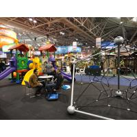 Environmental Friendly Kids Climbing Nets And Ropes For Playgrounds , 360*400*250cm Manufactures
