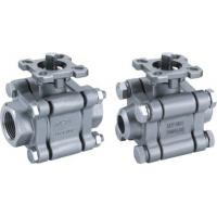 Buy cheap 3-pc stainless steel ball valve full port 2000wog BSPP NPT ISO-5211 DIRECT MOUNTING PAD from wholesalers
