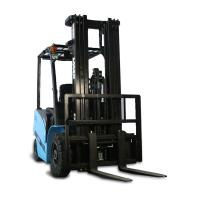 China 2 Ton Four Wheel Electric Forklift , Heavy Duty Warehouse Stacker Forklift on sale