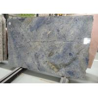 Brazil Azul Bahia Granite Wall Panels Kitchen Granite Slab For Background Wall Landscape Manufactures