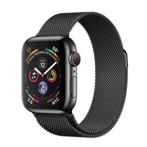 New aple Watch Series 4 44 mm Space Black Stainless Steel Milanese Loop Manufactures