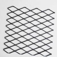 XG-23 Carbon Steel Painting Expanded Metal Mesh For Architecture Manufactures