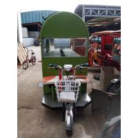 China Multi - Functional Cooking 1000W Electric Food Truck / Cart 30km/H 2400*1300*2200 wholesale