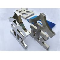 Mirror Customized LED Channel Letters for Advertising Non Illuminated Manufactures