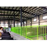 Fire Proof H Section Commercial Steel Frame Buildings With Sandwich Panels Manufactures