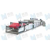 High Efficiency Full Automatic Roll To Roll Non Woven Silk Screen Printing Press Manufactures