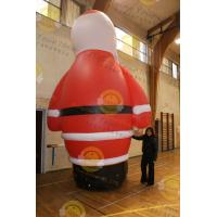 Advertising Custom Durable Shaped Balloons , Inflatable Large Santa Claus For Christmas Celebration,CHR-1 Manufactures