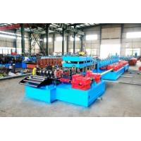 US National Standards Two Waves Freeway Guardrails Fences Roll Forming Machine Manufactures