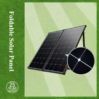 China High efficiency, high quality 2f 160w mono-crystalline foldable solar panel with controller for the EU & USA market on sale