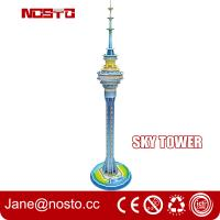 Sky tower children novelty toys 3d puzzle building diy assembly toys for kids Manufactures