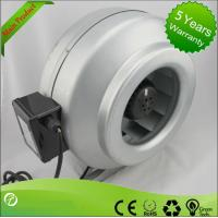 High Efficiency Circular Inline Duct Blower , Centrifugal Ducted Exhaust Fan Manufactures