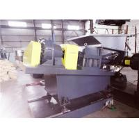 China 700-800kg/hr Capacity Twin Screw Feeder , Conical Double Screw Force Feeder on sale