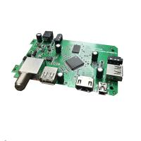 DVB3510C SMT PCB Assembly Video De Interlacing And Post Processing For DVB 6101s 2 Channel Audio Manufactures